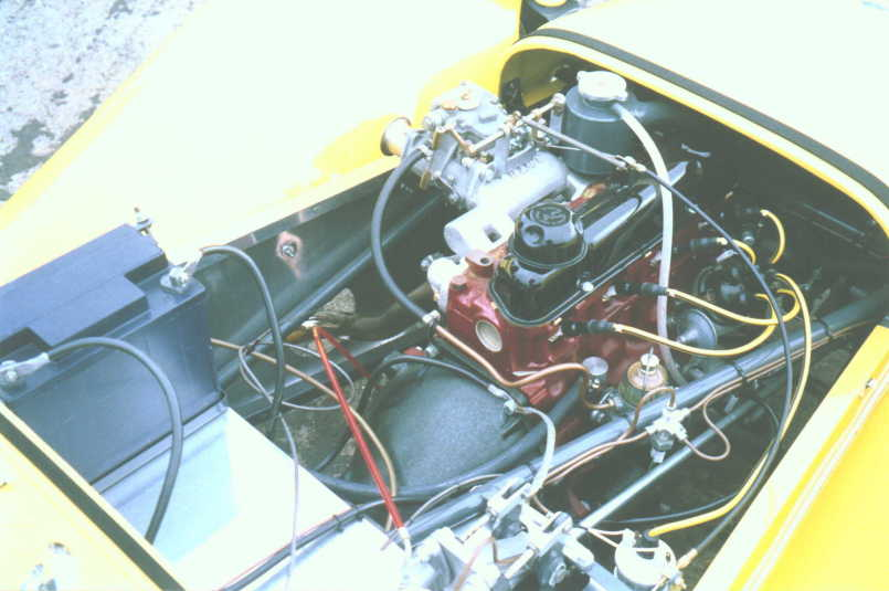 Engine Bay Swirl Pot.Lotus Seven Register Series Two Pictures. Car ...